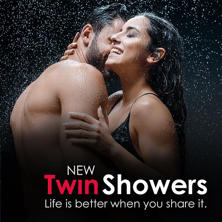 Twin Showers