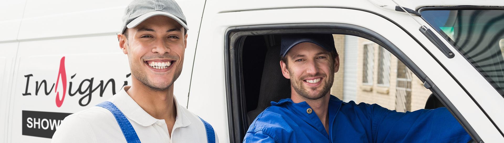 Insignia delivery service