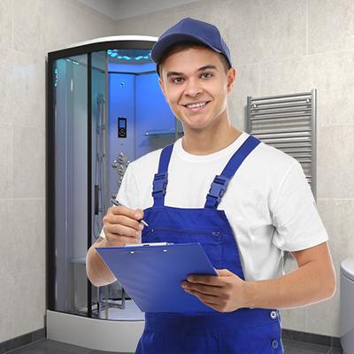 Shower installer