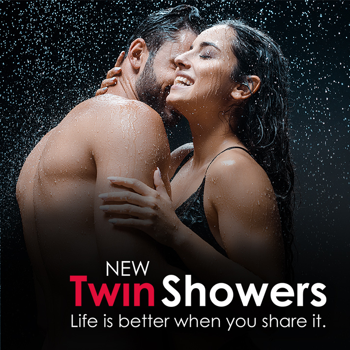 Twin Showers
